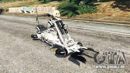 Motojet Hexer pour GTA 5