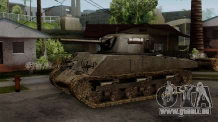 M4 Sherman from CoD World at War pour GTA San Andreas