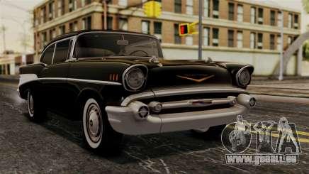 Chevrolet Bel Air Sport Coupe (2454) 1957 HQLM pour GTA San Andreas