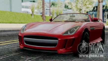 GTA 5 Benefactor Surano v2 IVF pour GTA San Andreas