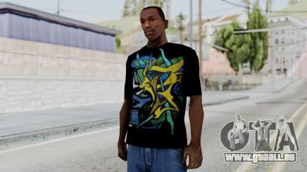 T-shirt from Jeff Hardy v1 pour GTA San Andreas