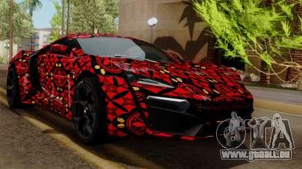 Lykan Hypersport Batik für GTA San Andreas