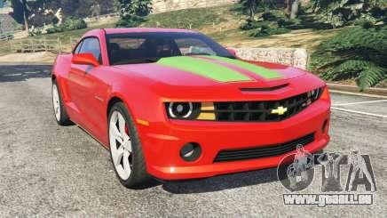 Chevrolet Camaro SS 2010 [Beta] pour GTA 5