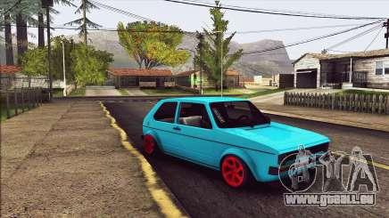 Volkswagen Golf MK1 für GTA San Andreas