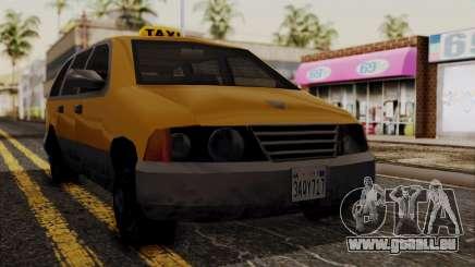 Minivan Cabbie SA Style pour GTA San Andreas