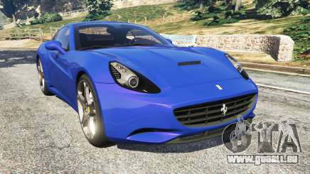 Ferrari California (F149) 2012 [Beta] für GTA 5