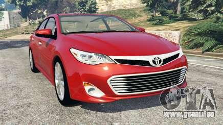 Toyota Avalon 2014 für GTA 5