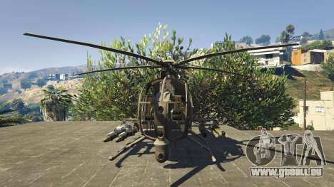 MH-6/AH-6 Little Bird Marine für GTA 5
