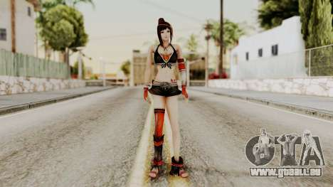 Dynasty Warriors 8 - Bao Sannian Black Costume für GTA San Andreas zweiten Screenshot