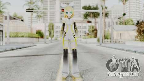 Project Diva F 2nd - Kagamine Rin Append pour GTA San Andreas deuxième écran