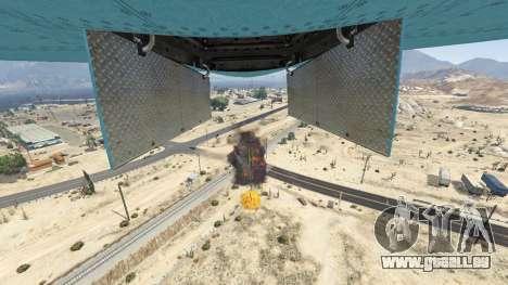 GTA 5 Carpet Bomber cinquième capture d'écran