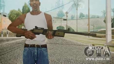 M40A5 Battlefield 3 pour GTA San Andreas troisième écran