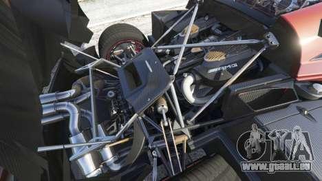 GTA 5 Pagani Huayra 2013 droite vue latérale