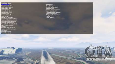 GTA 5 Simple Trainer v2.4 achten Screenshot