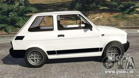 GTA 5 Fiat 126p v0.5 vue latérale gauche