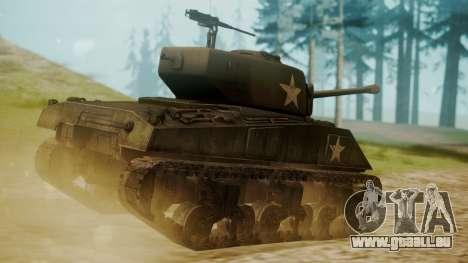M4A3(76)W Sherman pour GTA San Andreas laissé vue