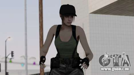 Resident Evil Remake HD - Jill Valentine (Army) pour GTA San Andreas