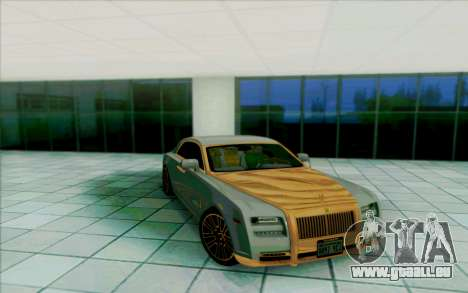 Rolls-Royce Ghost Mansory pour GTA San Andreas salon