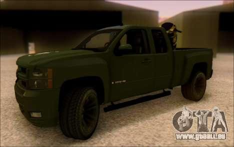 Chevrolet Silverado 2500 Best Edition pour GTA San Andreas