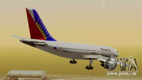 Airbus A310-300 Philippine Airlines Livery für GTA San Andreas linke Ansicht
