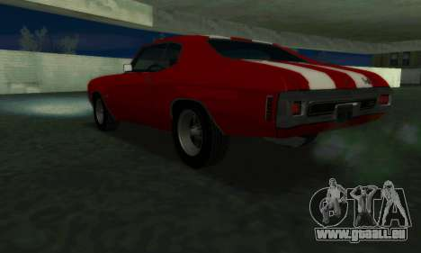 Chevrolet Chevelle SS [Winter] für GTA San Andreas linke Ansicht