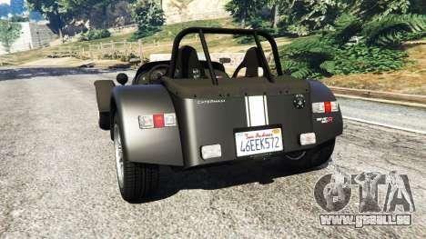 Caterham Super Seven 620R v1.5 [black] pour GTA 5