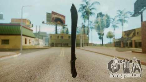 GTA 5 Machete (From Lowider DLC) für GTA San Andreas zweiten Screenshot