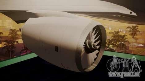 Airbus 350-900XWB Around The World pour GTA San Andreas vue de droite