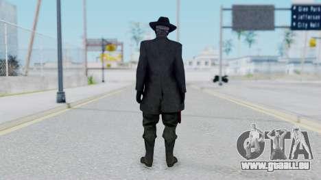 SkullFace Mask and Hat pour GTA San Andreas troisième écran