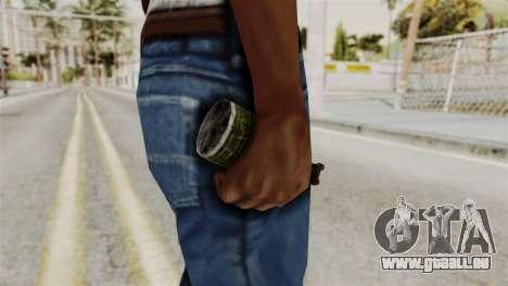Grenade from RE6 pour GTA San Andreas troisième écran
