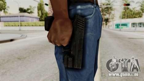 Colt 45 from RE6 pour GTA San Andreas troisième écran