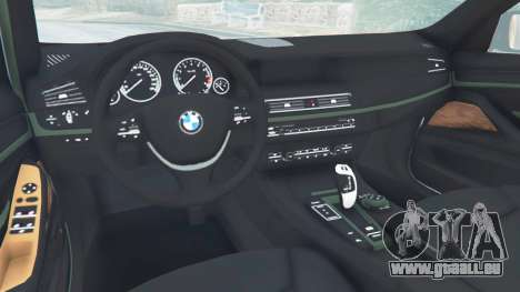 BMW 525d (F11) Touring 2015 (US) pour GTA 5