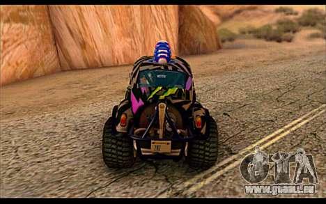 VW Baja Buggy Gymkhana 6 für GTA San Andreas rechten Ansicht
