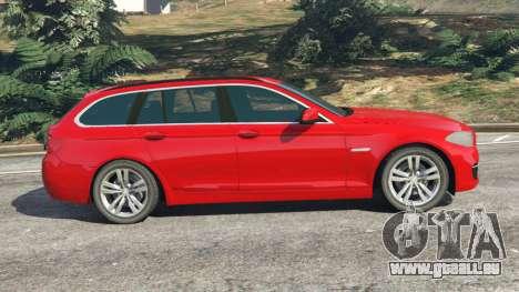 GTA 5 BMW 525d (F11) Touring 2015 (UK) linke Seitenansicht