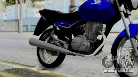 Honda CG Titan 2014 pour GTA San Andreas vue de droite