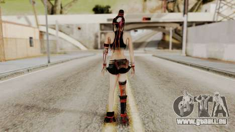 Dynasty Warriors 8 - Bao Sannian Black Costume für GTA San Andreas dritten Screenshot
