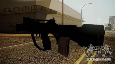 Famas Battlefield 3 für GTA San Andreas dritten Screenshot