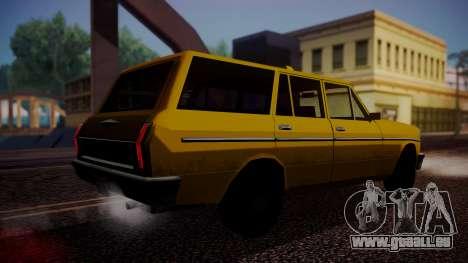 Taxi-Perennial für GTA San Andreas linke Ansicht