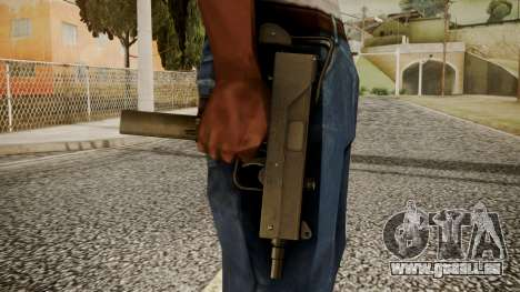 Micro SMG by catfromnesbox pour GTA San Andreas troisième écran