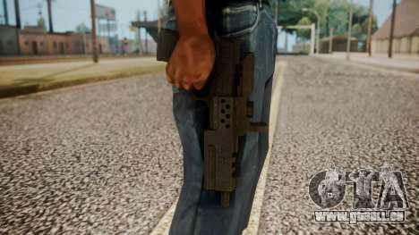 Silenced Pistol from RE6 pour GTA San Andreas troisième écran