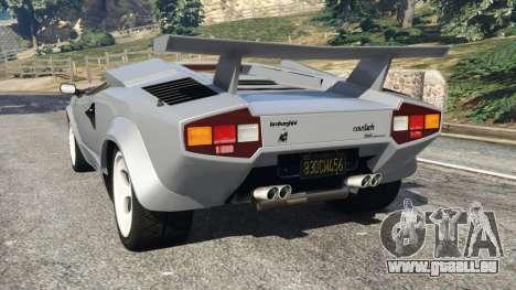 Lamborghini Countach LP500 QV 1988 v1.2 für GTA 5
