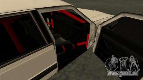 Willard Drift pour GTA San Andreas sur la vue arrière gauche