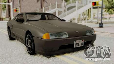 Elegy The Gold Car 1 für GTA San Andreas