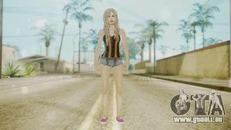 The Jack Daniels Girl Overhauled pour GTA San Andreas deuxième écran