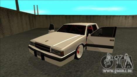 Willard Drift pour GTA San Andreas vue arrière