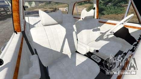 GTA 5 Mercedes-Benz 300SEL 6.3 v1.2.3 vorne rechts Seitenansicht
