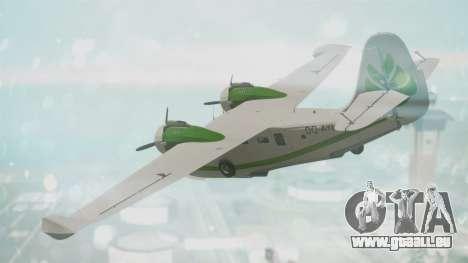 Grumman G-21 Goose DQAYL pour GTA San Andreas laissé vue