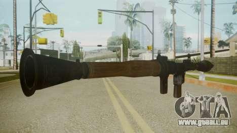Atmosphere Rocket Launcher v4.3 für GTA San Andreas zweiten Screenshot