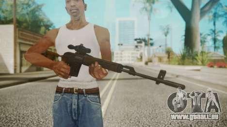 Sniper Rifle by EmiKiller pour GTA San Andreas troisième écran