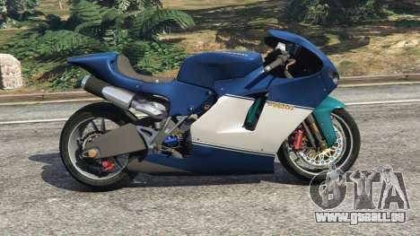 GTA 5 Ducati Desmosedici RR 2012 linke Seitenansicht
